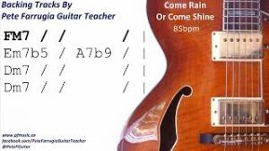 Come-Rain-Or-Come-Shine-Backing-Track