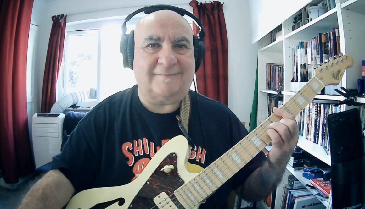 Pete Farrugia, Online Guitar, Bass Guitar and Ukulele Teacher
